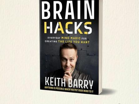 Keith Barry announces new 'Brain Hacks' book
