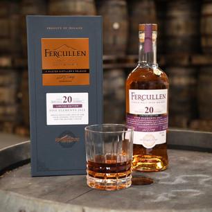 Powerscourt Distillery Unveils Second Five Elements Whiskey, Fercullen 20 Year-Old Single Malt