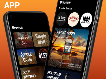 The Irish Whiskey App, now on Android & iPhone