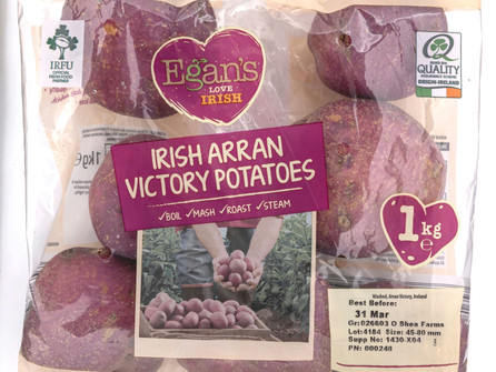 Victory for Aldi as 102 year old potato variety launches in store! w/Recipe