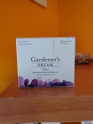 Gardener's dream facial cream Ohm
