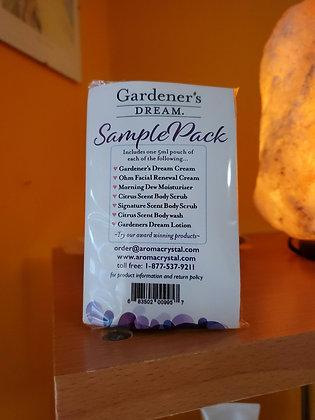 Gardener's dream cream sample pack ( 7 samples)