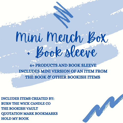 Mini Merch Box + Book Sleeve