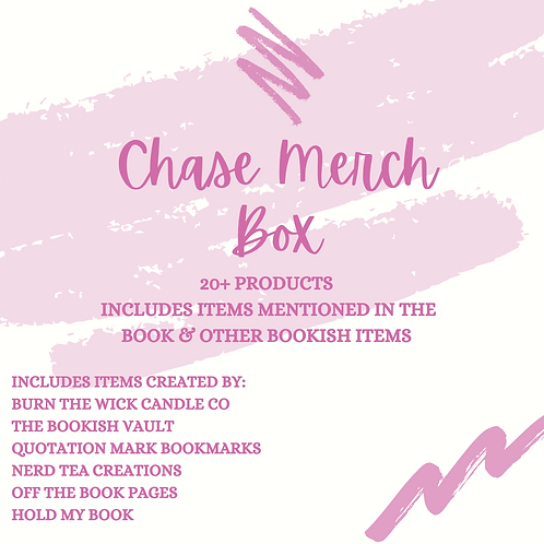 Chase - Signed Paperback and Bookish Merch Box
