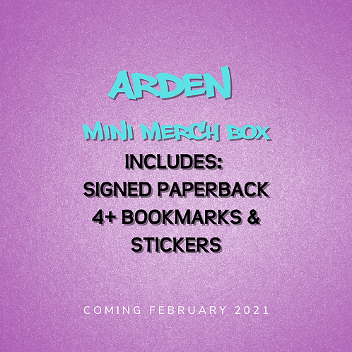 **PREORDER** Arden - Mini Merch Box with signed paperback