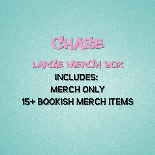 Chase - Large Merch Box ONLY