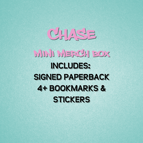 Chase - Mini Merch Box with signed paperback