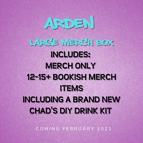 **PREORDER** Arden - Large Merch Box ONLY