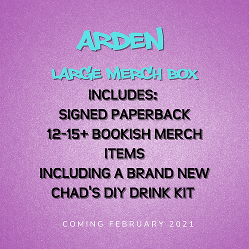 **PREORDER** Arden - Signed Paperback and Large Merch Box