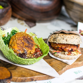 Healthy Vegetarian Burger