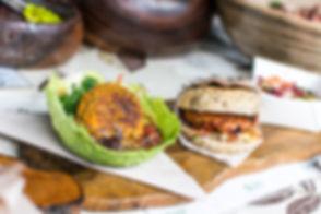 Santé végétarien Burger