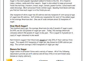 How Much Sugar Do You Eat? You May Be Surprised!