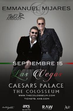 Emmanuel y Mijares Las Vegas 2016