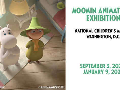 Beloved Moomins and their creator presented at National Children's Museum