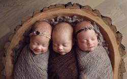 newborn trojcata triplets