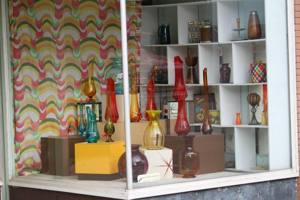 Corner Store Window Display