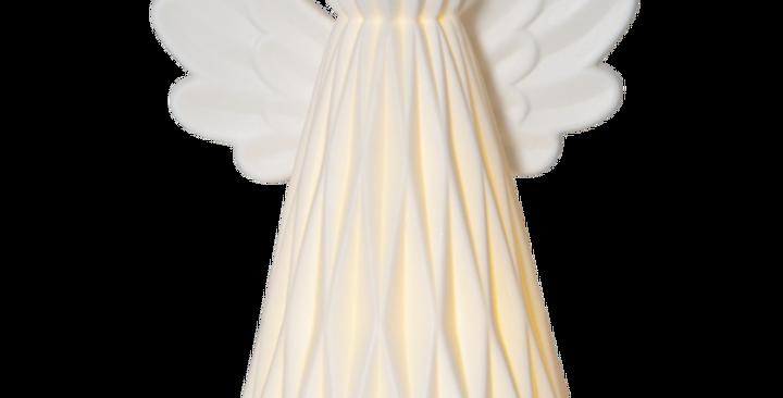Vinter engel med led lys