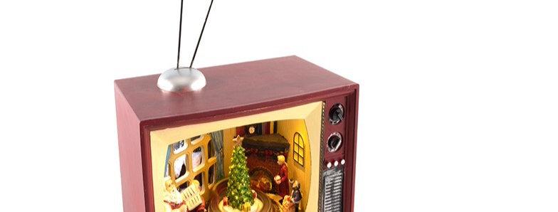 Jule scene i tv