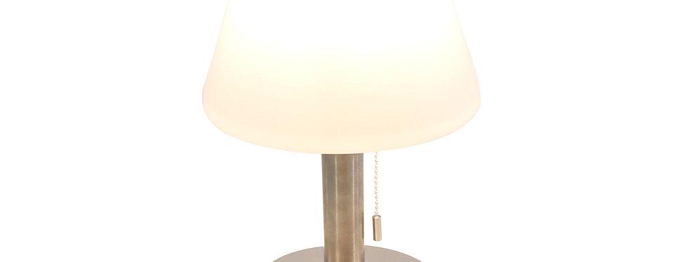 Alu solcelle bord lampe