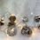Thumbnail: Kogle lyskæde med kunstig sne på