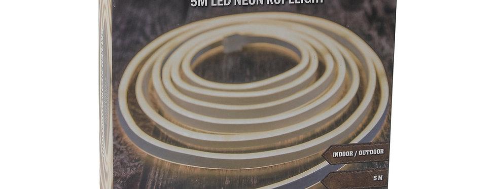 Reblys 5m varm hvid neon led