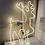 Thumbnail: Stort rensdyr til væg neon led