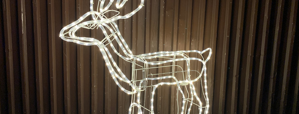 Stor reblys rensdyr 253 LED (DEMO)