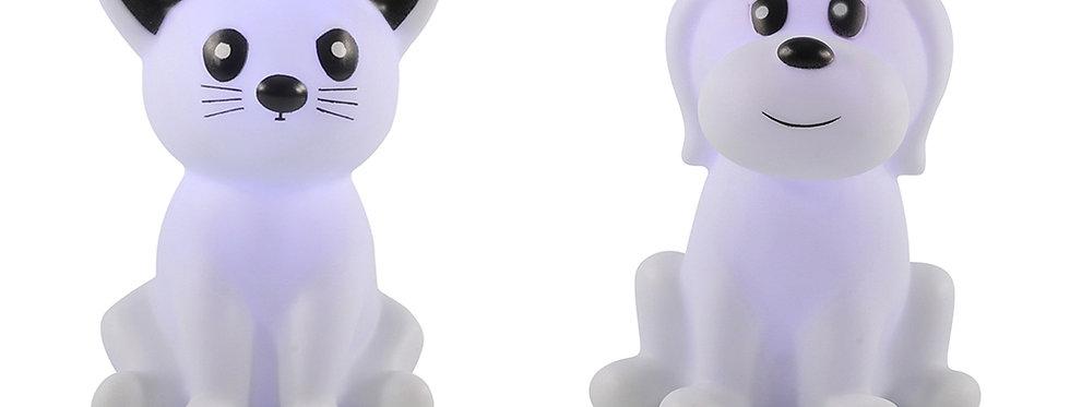 Farveskiftende led hund eller kat