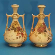 Pair of Blush Vases