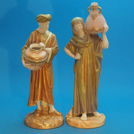 Pair of Cairo Water Carriers