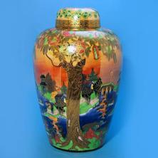 Fairyland Lustre Ginger Jar