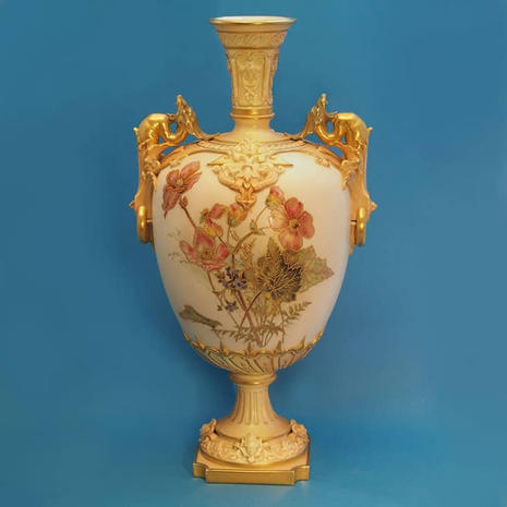 Vase Signed E.R for Edward Raby