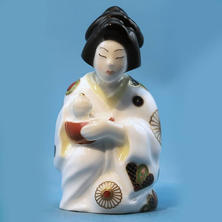 Worcester Japanese Girl Limited Edition