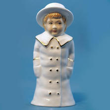Worcester Boy with Boater Collectors Society only