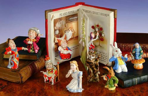Alice in Wonderland Bone China Set