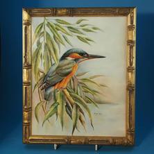 Bryan Cox Plaque Kingfisher