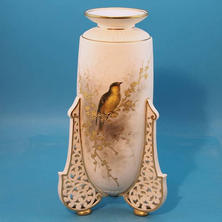 Vase with Reticulated Legs