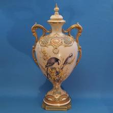 Vase & Cover Signed Baldwyn