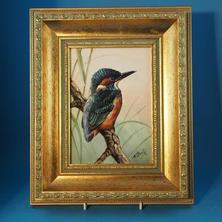 Skerrett Plaque Kingfisher