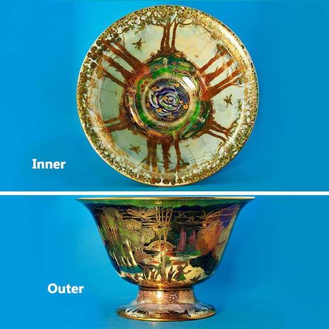 Fairyland Luster Bowl