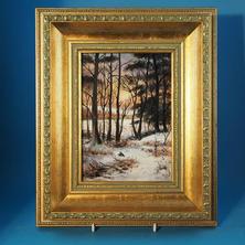 Skerrett Plaque Snowy Wood