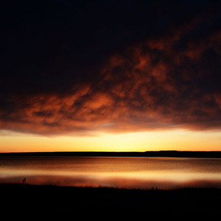 A059 Storm Over Freezeout Lake Greeting Card
