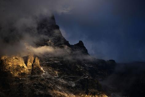 Stormy Tetons
