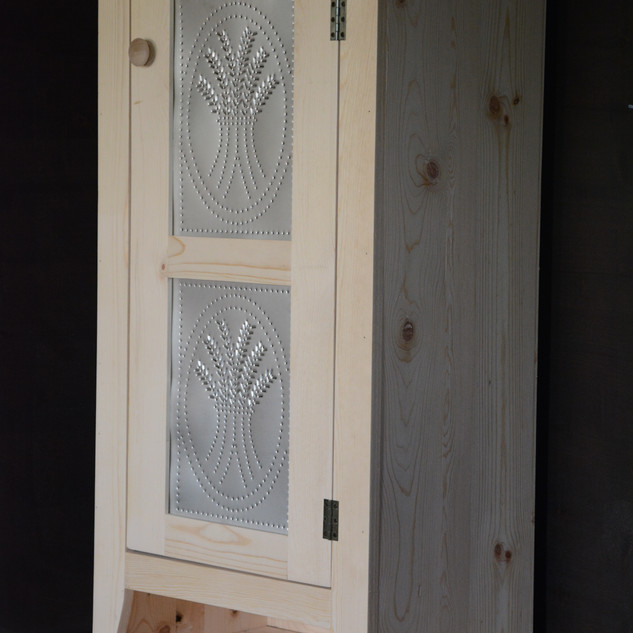 Pie Safe with Punched Tin Panels