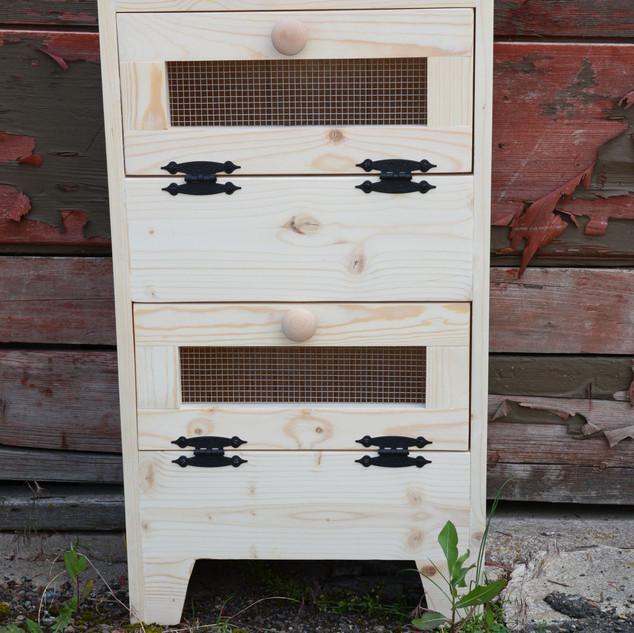 Two Bin Vegetable Cabinet