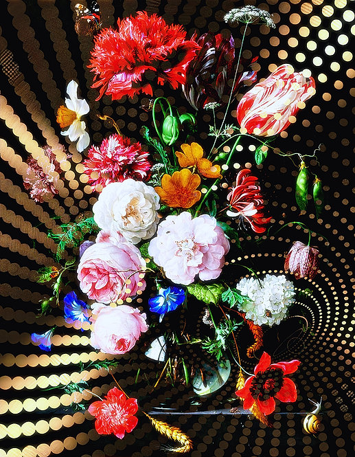 Metallic Bouquet three- MetallicRoyale
