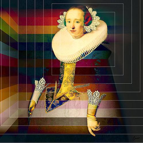 Lady Michelle Stripe - Cameo