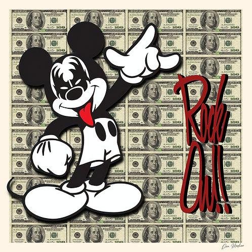 Kiss Mickey Rock On - Dom Medina