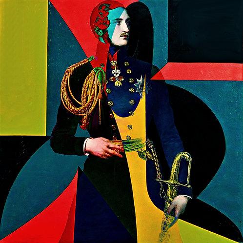 Cameo - Prince Albert geometrical drill