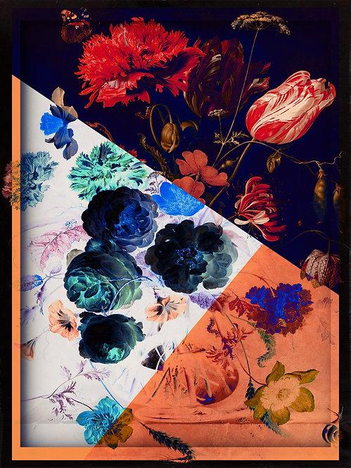 Geometrical Flowers two - MetallicRoyale